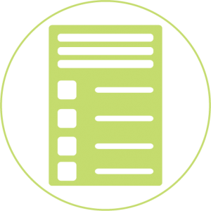 light green technology planning list transparent favicon