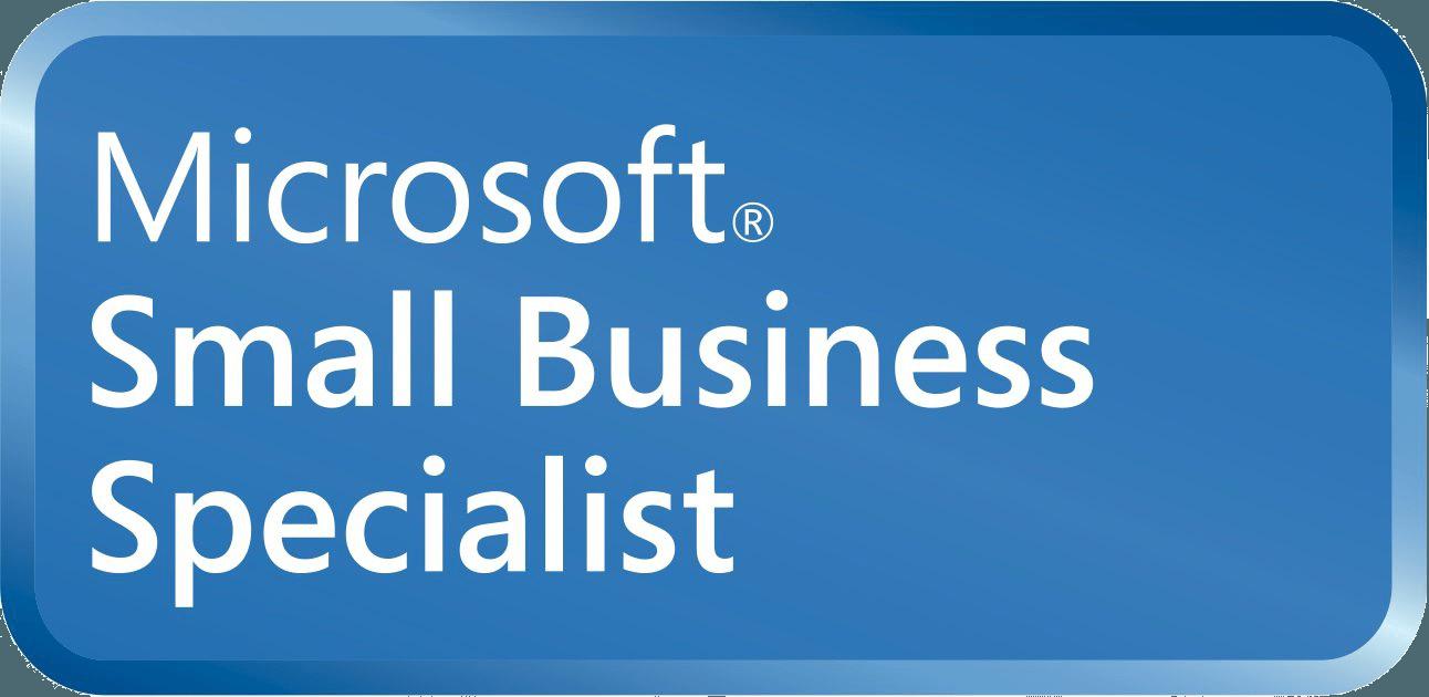 microsoft small business specialist logo