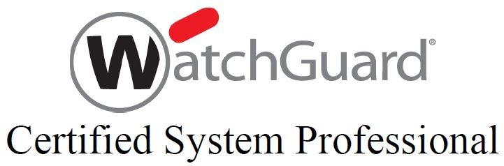 watchguard certified system professional logo
