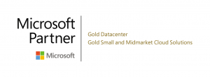microsoft partner gold data center gold small and midmarket cloud solutions logo