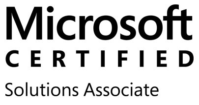 microsoft certified solutions associate transparent logo